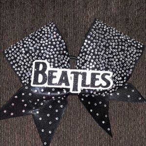 Rockstar Cheer Beatles Bow